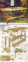 Woodworking Bench Plans by Shaker Workbench Plans Workshop Solutions Projects Tips And