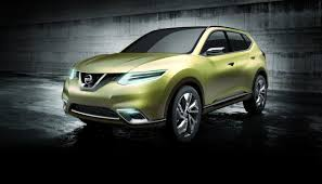 stanced nissan leaf nissan hi cross crossover concept car nissan usa