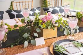baby shower flower centerpieces kara s party ideas geometric floral baby shower kara s party ideas