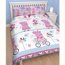 superman peppa pig and other peppa pig u0026 george pig duvet quilt covers u2013 toddler single