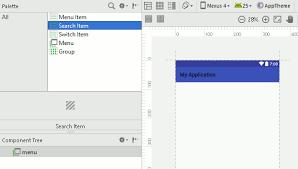 tutorial android menu bar android adventures menus the toolbar