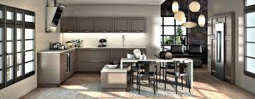 cuisine chaleureuse contemporaine cuisine chaleureuse contemporaine cuisine beton meubles rangement