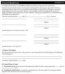 equipment lease agreement month to month free resume template