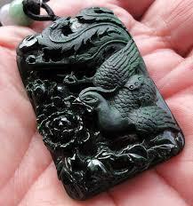 black jade necklace pendant images Black jade jewelry jpg