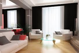 Black Leather Sofa Interior Design Living Room Curtain Designs Black Flooring Tv Unit Black Leather