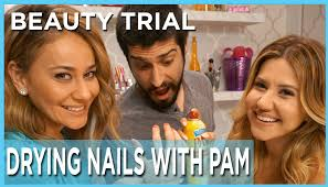 pinterest diy does pam dry nails fast youtube