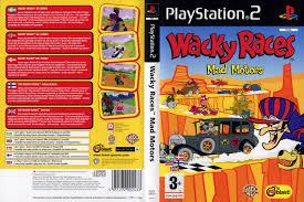 wacky races covers box sk wacky races mad motors high quality dvd