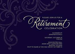 retirement invitations formal retirement invitation retirement invitation cardstore