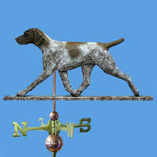german shorthair pointer carved painted basswood