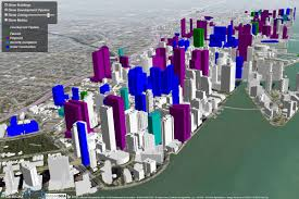 City Of Miami Zoning Map by Miami Dda Launches Interactive 3 D Skyline Map Of New Developments