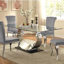 large glass dining room table dining tables large dining room table simple chairs metal
