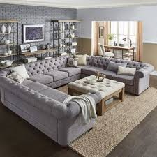 Tufted Sofa Sectional Tufted Sectional Sofas Joss