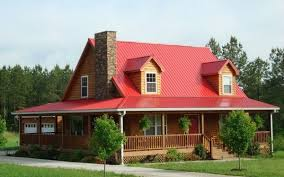 metal roofing colors and house facade u2013 choosing the right combination