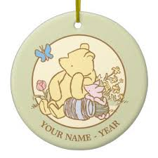 classic winnie the pooh and piglet 1 postage zazzle
