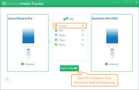iphone to android transfer 3 ways to transfer contacts from iphone to android