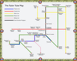 the tudor london tube map londonist