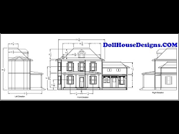 Free Miniature Dollhouse Plans by Dollhousedesignscom Build Your Own Dollhouse Using Our Plans