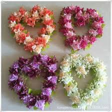 Flower Home Decoration by Best Wholesale Wedding Decoration Heart Shaped Wreath Home Decor