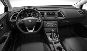 hatchback cars inside seat leon hatchback review parkers