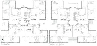 multi family house plans triplex multi family home floor plans multi family house plan multiple