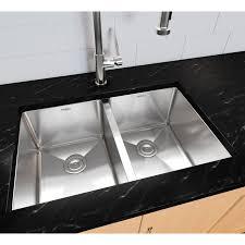 sinks gray granite countertop awesome kraus 23 x 18 stainless