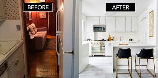 Elle Decor Kitchens by Before After Our Greenwich Village Renovation On Elle Decor