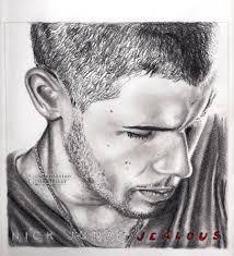 nick jonas graphite drawing by drummerkid08 on deviantart