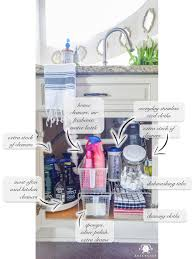 All In One Kitchen Sink And Cabinet by Organization For Under The Kitchen Sink Kelley Nan