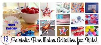 12 easy patriotic fine motor skills activities for kids