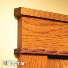 How To Install Interior Door Casing How To Install Craftsman Trim Craftsman Trim Craftsman And Woods