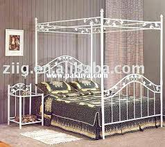 steel canopy bed frame modern metal bed frame ellipse metal canopy