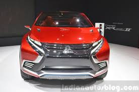 mitsubishi concept xr phev mitsubishi concept xr phev ii front view at the 2015 geneva motor