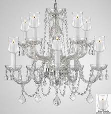 Outdoor Votive Candle Chandelier by Outdoor Gazebo Chandeliers