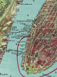New York City Map Of Manhattan by Nyc Map New York City Historical Blog