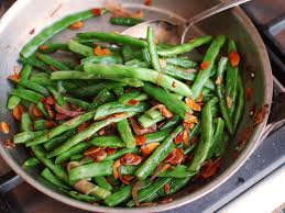 haricots verts amandine style green beans with almonds