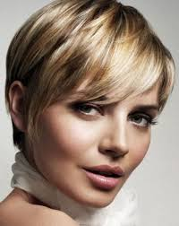 cute highlights hairstyles for oval shaped face girls with short