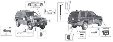 1992 jeep laredo parts jeep zj grand parts free shipping at 4wd com