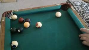 smallest room for a pool table possibly the smallest pool table ever dog food challenge youtube
