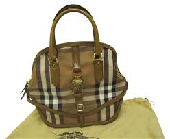 burberry siege social burberry medium orchard horseferry check gold owl saddle brown