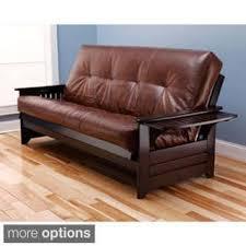 leather futons shop the best deals for dec 2017 overstock com