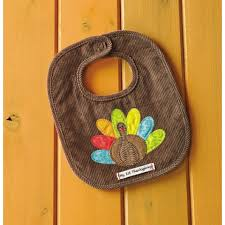 thanksgiving bib my 1st thanksgiving turkey bib by mud pie baby bibs