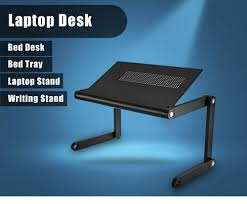 omax k6 portable laptop desk folding table vented stand 31 11