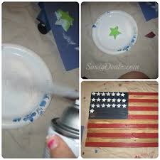 Pallet American Flag Diy How To Make An American Flag Out Of A Wood Pallet Step By