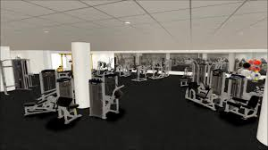 dkit sport gym 3d walkthrough floor plan youtube