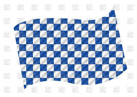 Checkered Racing Flags Racing Flag Blue And White Checkered Background Royalty Free