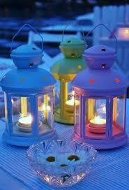 My Ikea Lanterns Which Were On Clearance Gretchen And Joshua U0027s