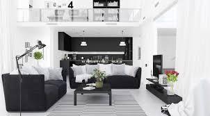 30 black u0026 white living rooms that work their monochrome magic