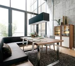 Modern Dining Bench With Back Gus Modern Plank Dining Table And Bench Modern Dining Modern