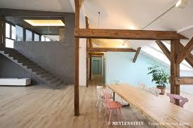 Wohnzimmer Modern Loft Ein Berliner Loft Mit Betonkern Casamia