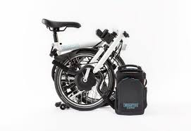 This Folding E Bike Wants by Brompton Folding Electric Bicycle Has 50 Mile Range Ships In 2018